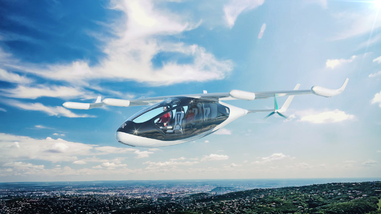 An image of Rolls-Royce's planned hybrid-eVTOL aircraft. (Rolls-Royce)