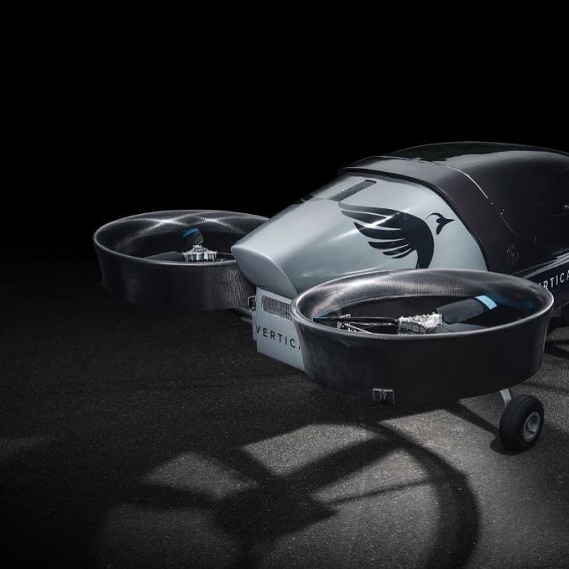 A photo of Vertical Aerospace's eVTOL proof-of-concept, one of a number of UAM developers that have signed agreements with Honeywell. (Vertical Aerospace)