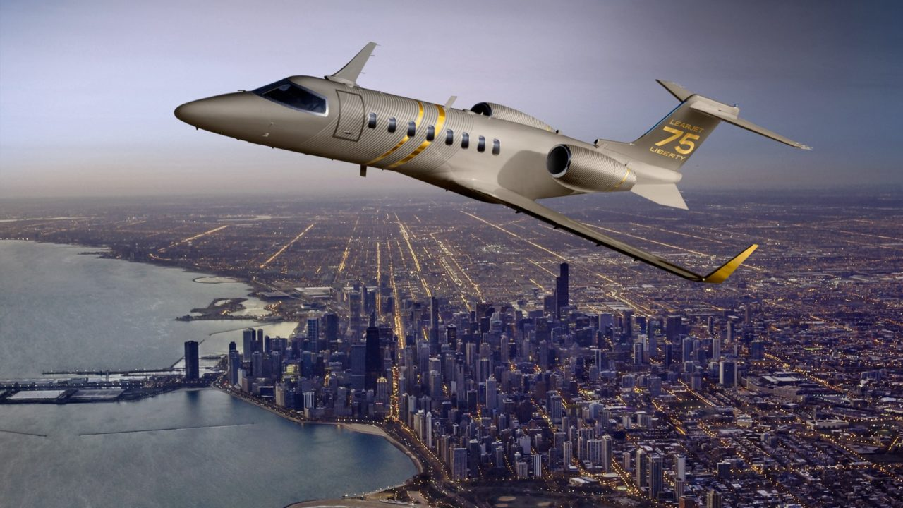 The Learjet 75 Liberty. (Bombardier)