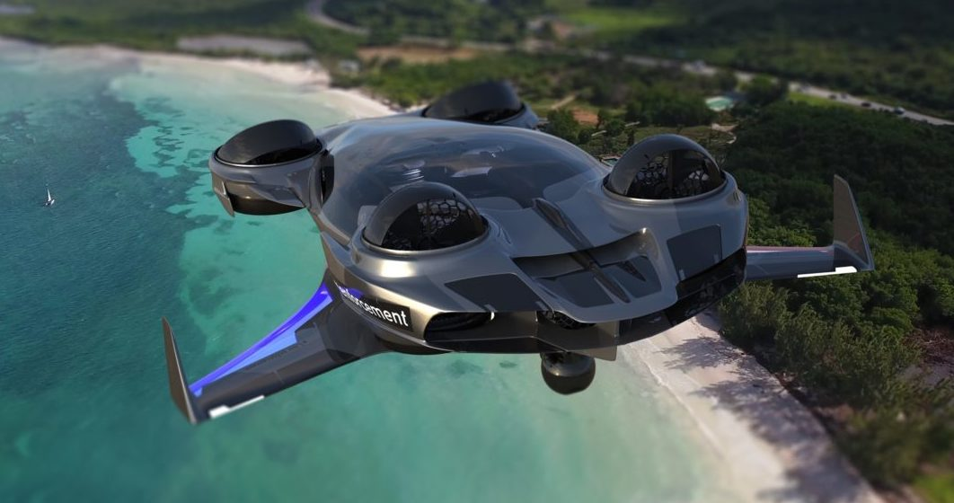Imagery of the Paragon T21 Raptor VTOL. (Paragon)