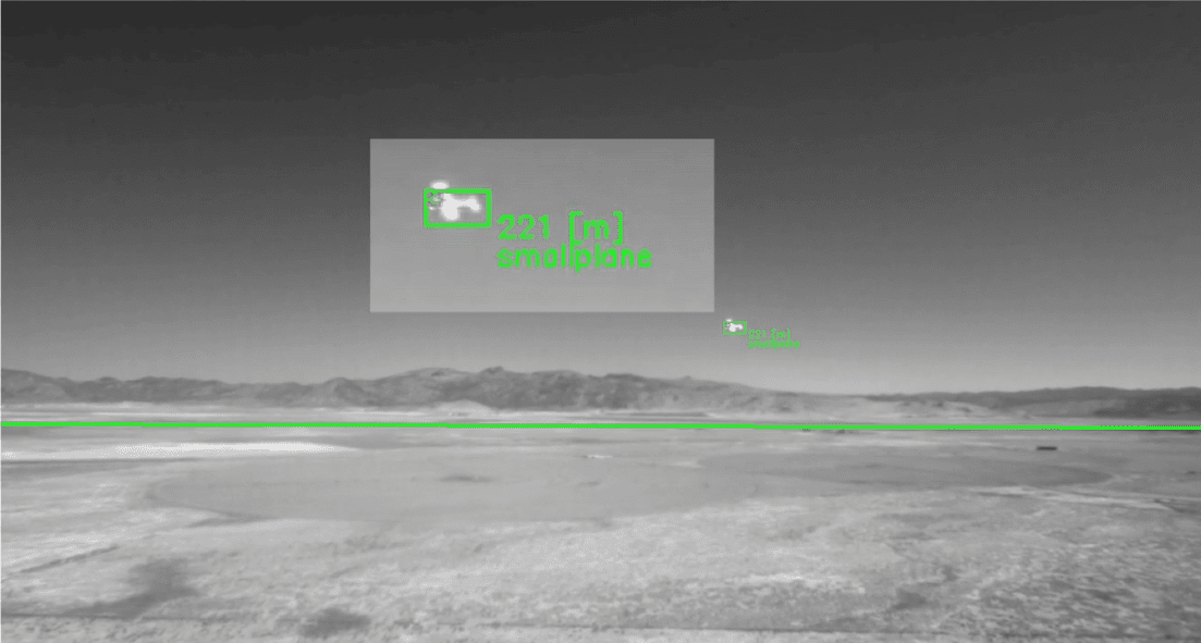 Casia demonstrating single-target identification.